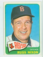 1965 Topps Baseball 162 Russ Nixon Boston Red Sox Excellent to Mint