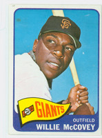 1965 Topps Baseball 176 Willie McCovey San Francisco Giants Excellent to Excellent Plus