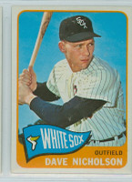 1965 Topps Baseball 183 Dave Nicholson Chicago White Sox Excellent to Mint