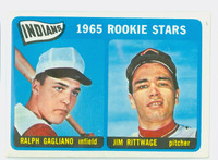 1965 Topps Baseball 501 Indians Rookies High Number Excellent