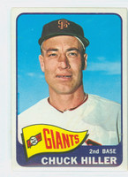 1965 Topps Baseball 531 Chuck Hiller High Number San Francisco Giants Very Good to Excellent