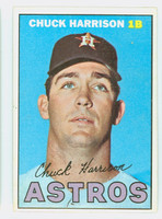 1967 Topps Baseball 8 Chuck Harrison Houston Astros Excellent to Mint