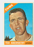 1966 Topps Baseball 2 Ted Abernathy Chicago Cubs Excellent