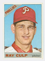 1966 Topps Baseball 4 Ray Culp Philadelphia Phillies Excellent to Mint