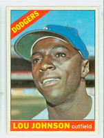1966 Topps Baseball 13 Lou Johnson Los Angeles Dodgers Excellent