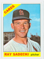 1966 Topps Baseball 26 Ray Sadecki St. Louis Cardinals Excellent to Mint