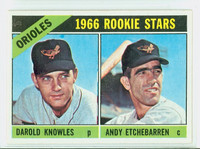 1966 Topps Baseball 27 Orioles Rookies Excellent to Excellent Plus