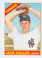 1966 Topps Baseball 31 Jack Cullen New York Yankees Excellent to Excellent Plus
