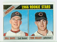 1966 Topps Baseball 44 Indians Rookies Excellent to Excellent Plus