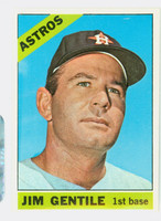 1966 Topps Baseball 45 Jim Gentile Houston Astros Excellent to Mint
