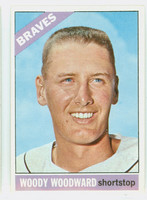 1966 Topps Baseball 49 Woody Woodward Atlanta Braves Excellent to Excellent Plus