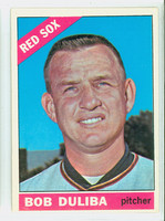 1966 Topps Baseball 53 Bob Duliba Boston Red Sox Excellent to Excellent Plus