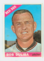 1966 Topps Baseball 53 Bob Duliba Boston Red Sox Excellent to Mint