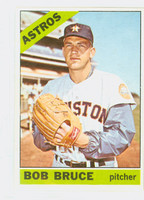 1966 Topps Baseball 64 Bob Bruce Houston Astros Excellent to Excellent Plus
