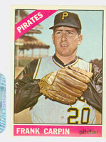 1966 Topps Baseball 71 Frank Carpin Pittsburgh Pirates Excellent to Excellent Plus
