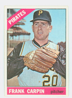 1966 Topps Baseball 71 Frank Carpin Pittsburgh Pirates Excellent to Mint