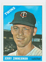 1966 Topps Baseball 73 Jerry Zimmerman Minnesota Twins Excellent to Mint