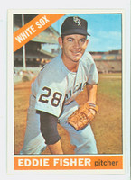 1966 Topps Baseball 85 Eddie Fisher Chicago White Sox Excellent to Mint