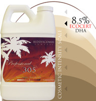 BEST SELLER - 305 - Spray Tan Solution 8% EcoCert approved DHA , 1/2 Gallon