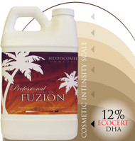FUZION Spray Tan Solution 12% Ecocert approved DHA- 1/2 Gallon