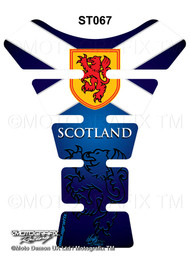 Scottish Saltire 3D Gel Tankpad Protector