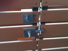 Moda Contemporary Gate Latch Double Gate Hardware Package
