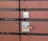 Moda Contemporary Gate Latch Single Gate Hardware Package