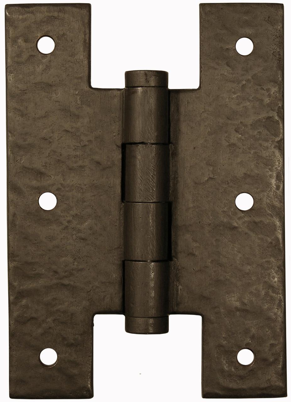 Dark Bronze Heavy Duty H Hinge For Driveway Gates And Heavy Gates