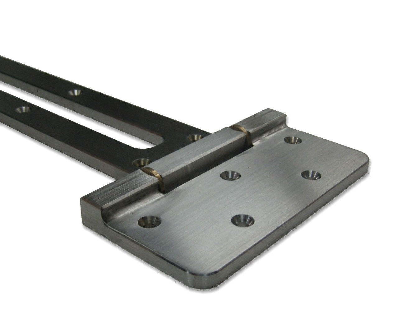 Contemporary Stainless Steel Heavy Duty Strap Hinge 360