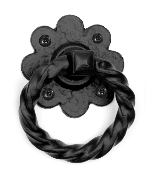 Floral Ring Handle