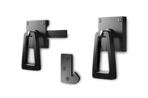 Modern Gate Latch with Tapered Ring