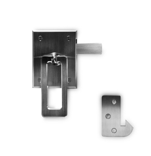 Elise Modern Stainless Steel Ring Gate Latch (LATCH SIDE ONLY)