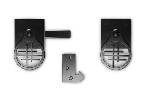 Asian Inspired Design Gate Hardware Package for Single Gate