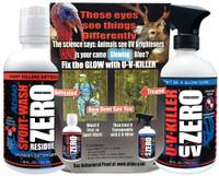 U-V-Killer ZERO UV & ZERO Sport-Wash Laundry Detergent Combo