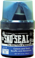 SNO-SEAL Wax Black - 4 Oz. Jar with Applicator