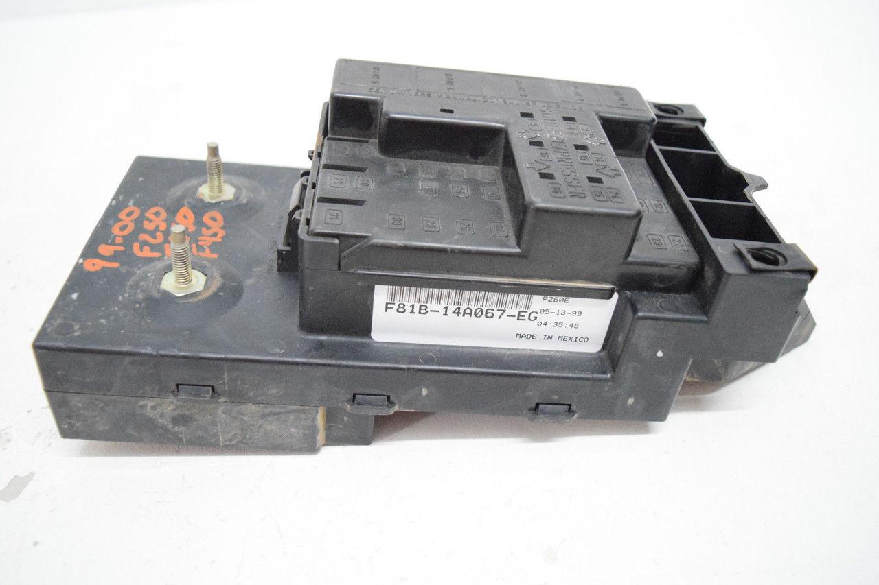 99 00 ford f250 f350 f450 superduty under dash fuse relay box rh maddbuys com