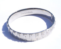 Braille Alphabet Bangle- SALE