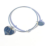 Love Heart Expandable Bracelet