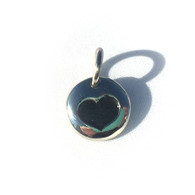 Heart dangle (initially yours)