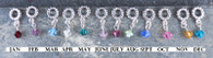 Birthstone Dangles