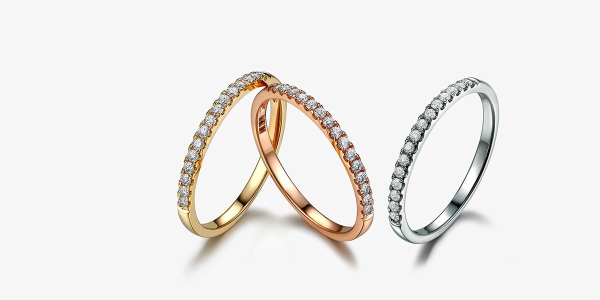 diamond wedding ring for her