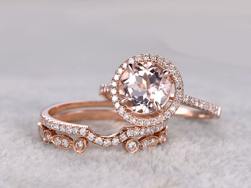 Pearl Ring With Rose Gold Band
