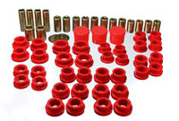Energy Suspension 02-09 350Z / 03-07 Infinity G35 Coupe Red Rear Control Arm Bushing Set