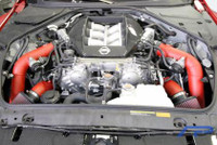 Agency Power Nissan Skyline R35 GTR Short Ram Intake System Polished