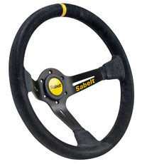 Sabelt Steering Wheel Dished -Suede - 350mm