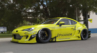 Pandem FRS / BRZ V3 Wide Body Aero Kit Front