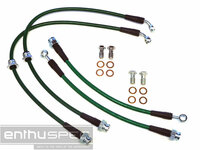 Nissan 240SX S13 & S14 1995-1998 - Enthuspec Front & Rear Brake Line Kit