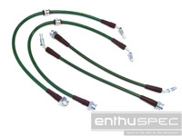 Nissan S13 S14 with Z32 300ZX Conversion Brake Line Kit - Front Rear