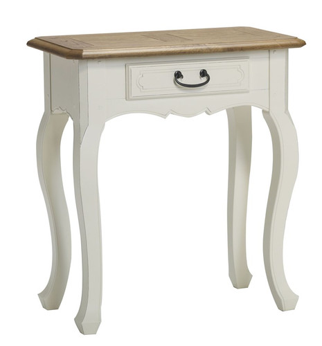 Chateau 1 Drawer Console Table - A/Cream
