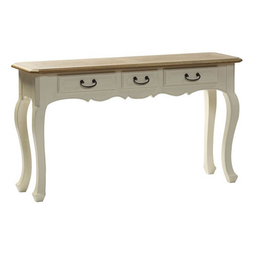 Chateau Console Table 3 Drawer - A/Cream